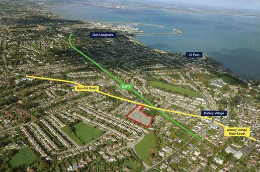 The Dalkey Manor site may fetch €7m