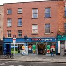 This Tesco Express on Thomas Street is currently on the market through Colliers as an investment.