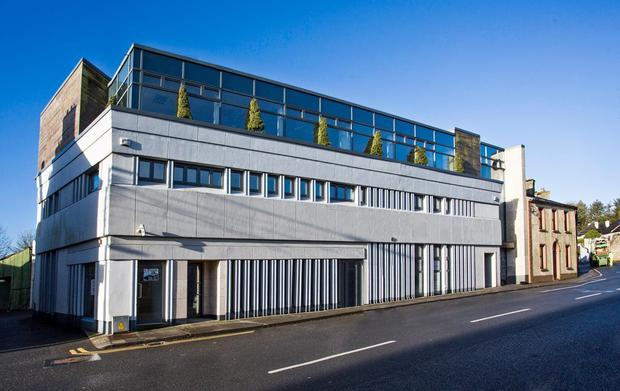 This office block in Boyle, Co Roscommon will become available for rent in January next year