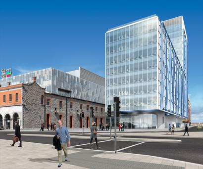 New developments like The Exo building have tenants seeking shorter lease terms and looser contracts