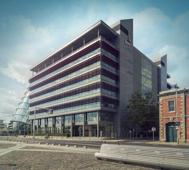 The PwC building at One Spencer Dock had been expected to sell for €242m.