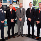 Newly promoted at Knight Frank are: Mark Headon, associate director offices; Ross Fogarty, director capital markets; Tomás Kilroy, director property management; Damien McCaffrey, director capital markets; Darren Reddy, associate director, building surveying & project management