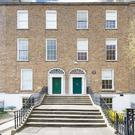 Colliers is quoting €2.4m for these two Georgian properties at 14 and 15 Herbert Place in Dublin 2.