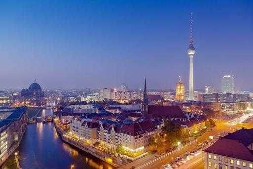 Berlin house prices have surged over the past year