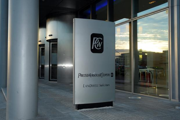 The PWC offices at Spencer Dock, Dublin. Photo: Caroline Quinn