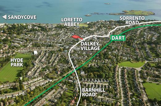 The Tramyards in Dalkey are on the market for €2m
