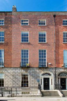 Colliers is quoting €2.35m for 26 Fitzwilliam Square