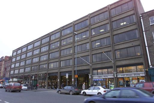 The Setanta Centre, situated on a prime site on Dublin's Nassau Street close to Trinity College