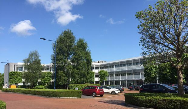 The Arvato Building in East Point business park is on the market for €21m through Weir & Conway