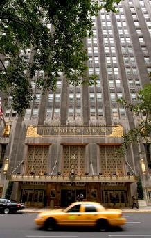 Anbang bought the Waldorf Astoria last year