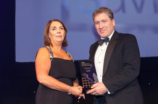 Savills collected the award for commercial agency of the year at last year's awards. Photo: Iain White Photography