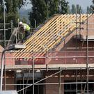 'An estimated 10,133 homes were built in 2015 and about 11,000 are expected to be made available this year.' Photo: PA/Peter Byrne