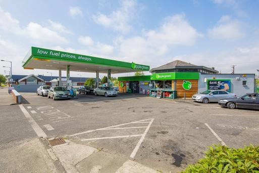 Colliers is quoting €1.2m for this service station in Co Wexford