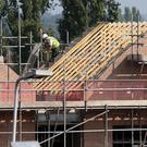 The National Construction Summit heard there has been an increase in construction activity across all sectors. Photo: PA/Peter Byrne
