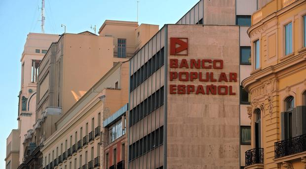 Banco Popular Espanol has been hit hard by the crash