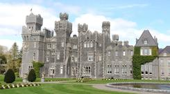 Ashford Castle, which is now a luxury hotel in Co Mayo, was once a Guinness property