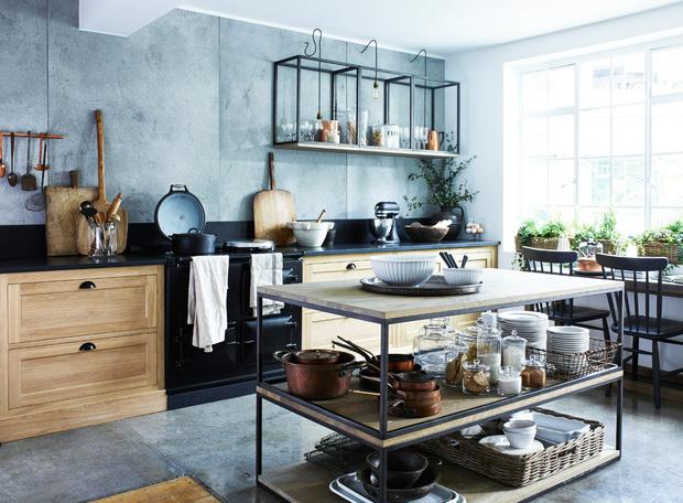 Neptune's updated Henley kitchen is described as 'traditional'