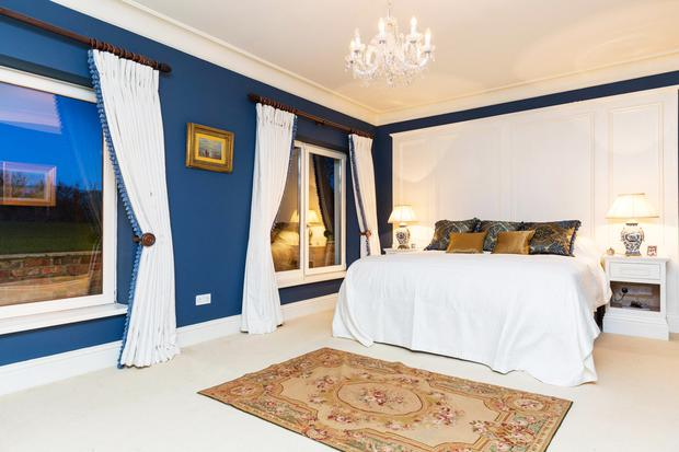 One of the large double bedrooms