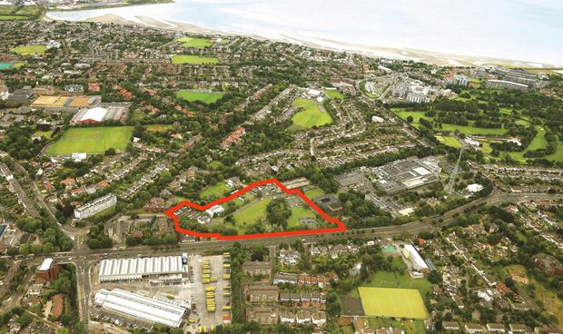 The 8.64-acre site has been brought to market with a guide price of €75m and is expected to attract a lot of interest.