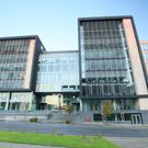 Joint agents Savills and BNP Paribas Real Estate are quoting rents ranging from €27.50 to €29.50 per sq ft for office space at The Chase in Sandyford, Dublin 18. Acquired by Kennedy Wilson for €62.5m last year, the building has undergone a substantial refurbishment and is typical of the suburban offering attracting tenants away from Dublin city centre where rents can be as much as two times higher