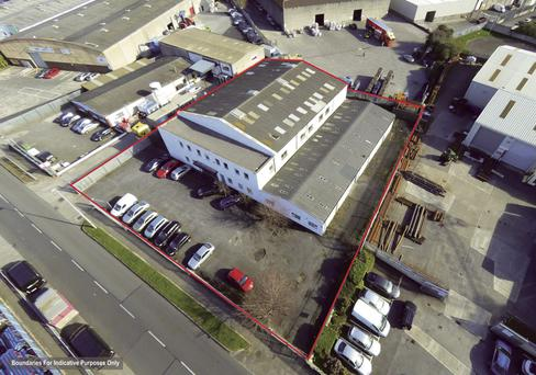 Unit 77 is located just 2.3km from the Junction 10 of the M50