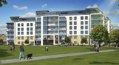 In Honeypark, Dun Laoghaire, Cosgraves are developing apartment blocks for the rental market.