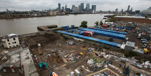 The plot of land is adjacent to one already being developed by Morgan Stanley in association with Barratt Developments. Photo: Bloomberg