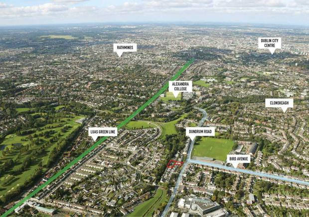 The Dundrum site is zoned Objective A - 'to protect, provide and improve residential amenities'