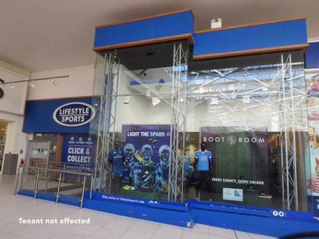 The 307 sq m Lifestyle Sports unit at Nutgrove Shopping Centre
