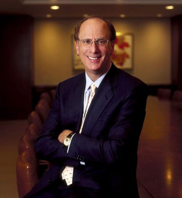 Larry Fink, chairman and CEO at BlackRock. Photo: Reuters