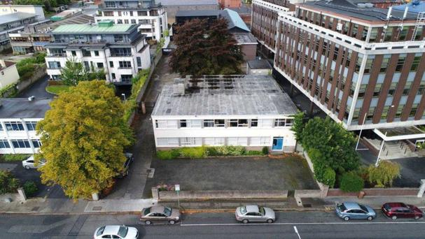 The site at Ardee Rd, Rathmines has scope for up to 21 apartments