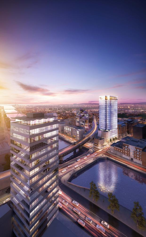 Plans To Build Dublin S Tallest Building Rejected Independent Ie