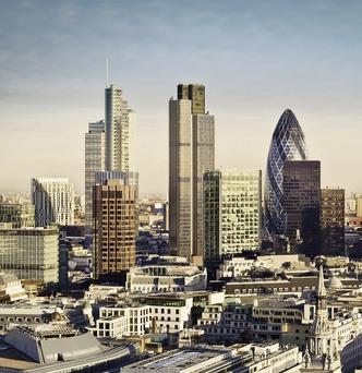 The French finance minister predicts Paris will overtake London as Europe's most important financial centre in a few years (stock picture)