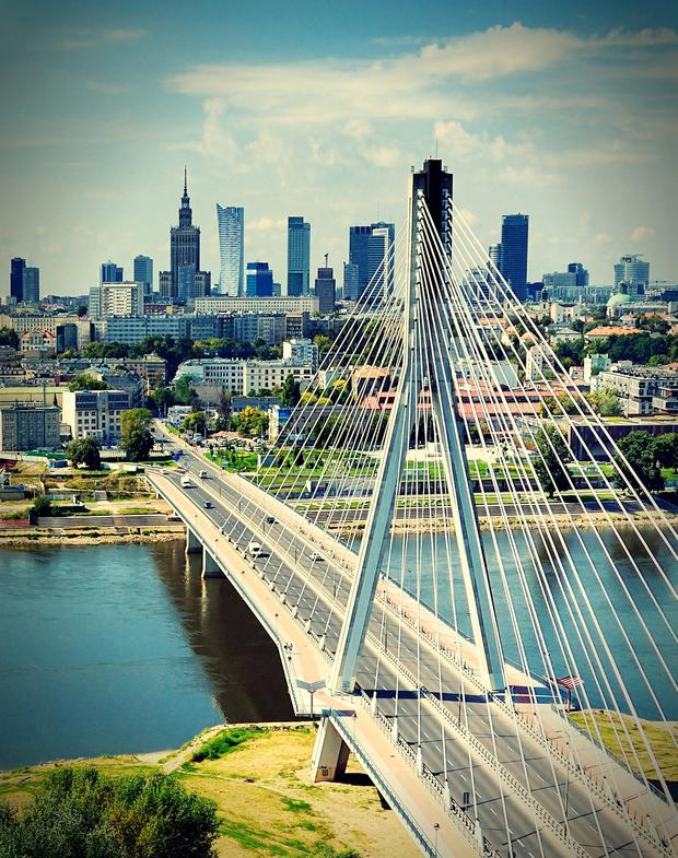 Warsaw and other Polish cities have been experiencing a real estate boom