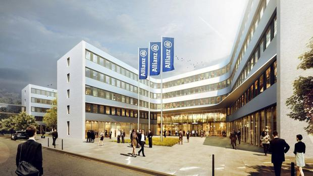 Asian investors are reported to have paid in the region of €320m for the Allianz Campus in Berlin