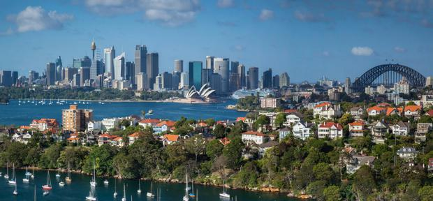 Prices in Sydney, the world's second-most expensive property market, showed an annual decline of 2.1pc in March