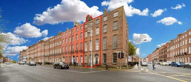 No 67 Mountjoy Square has high reversionary potential