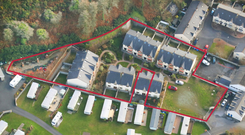 The lot in Dunmore East comprises of 12 vacant residential properties