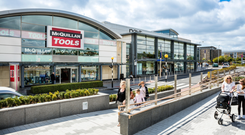 Westend Retail Park in Blanchardstown which was bought by DWS in €147.7m deal Photo: Peter Moloney