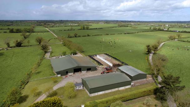 In all, there is accommodation for 200 cattle