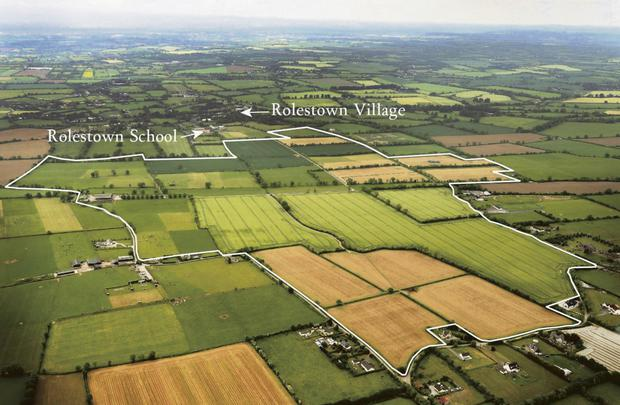 The farm at Rowlestown, Co Dublin is home to a herd of 500 commercial land pedigree sucklers and also 128ac under tillage