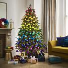 John Lewis rainbow Christmas tree