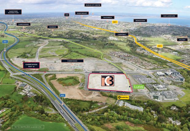 Bold vision: Developer Johnny Ronan is on the brink of acquiring the Town Centre 3 (TC3) site at Cherrywood in south Dublin