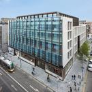 New home: Barclays Bank is moving €190bn of its assets to its Irish operation. Barclays Bank Ireland has new offices at One Molesworth Street