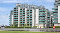 Auction: A duplex apartment at 76 Kirkpatrick House, Spencer Dock