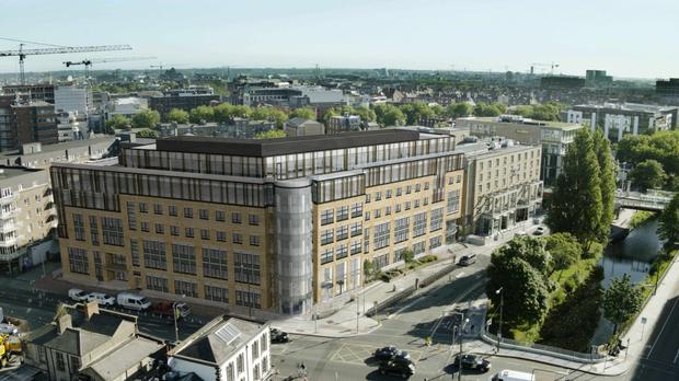 Number one: The largest transaction in Q1 was Marlet's sale of Charlemont Exchange office building for €145m