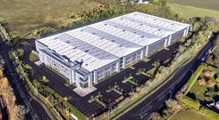 Valuable deal: Dublin Airport Logistics Park in Finglas was sold by Eason for €19m