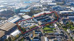 Flexible: George Cooke Industrial Estate is zoned Z6 which allows for a range of different uses to be considered