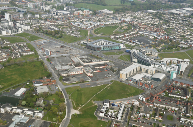 The site is located close to St Margaret's Road and Ikea