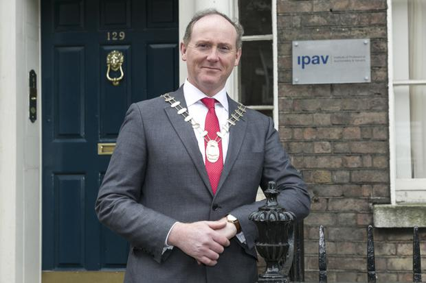 David McDonnell, MD of Property Partners McDonnell in Mullingar, and incoming president of IPAV, the Institute of Professional Auctioneers & Valuers